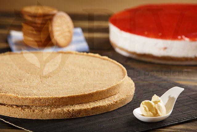 Fond de tarte aux biscuits moulus