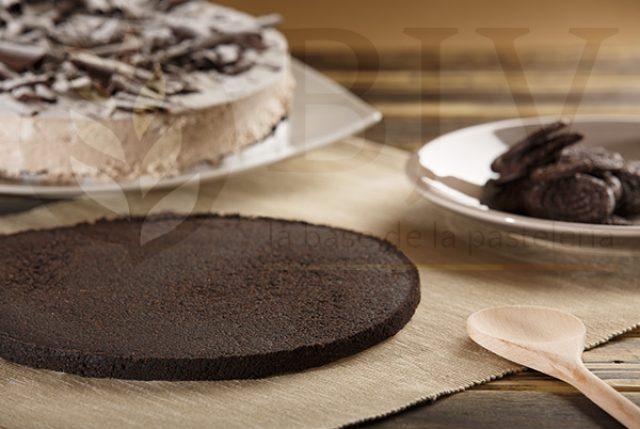 Base de galleta molida cacao
