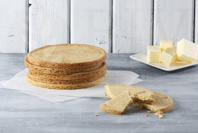 Palet breton biscuit base