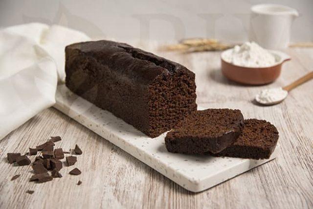 Bizcocho Plum cake cacao