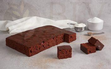 Pre-cut Red velvet sponge cake
