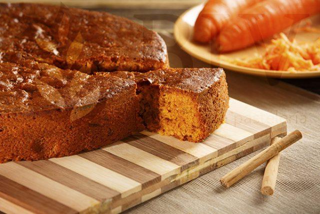 Carrot sponge cake