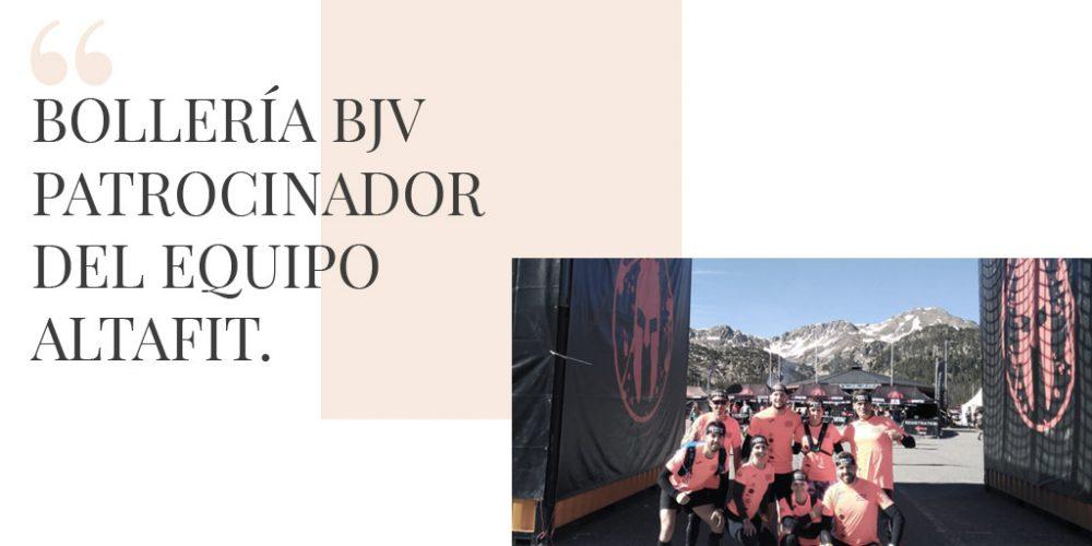 Bollería BJV patrocinador oficial del equipo Altafit en la Andorra Trifecta Weekend