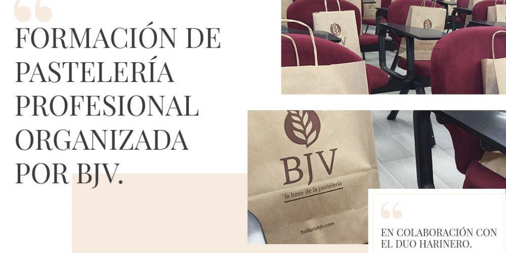 Formación de pastelería profesional organizada por BJV junto con el Duo harinero