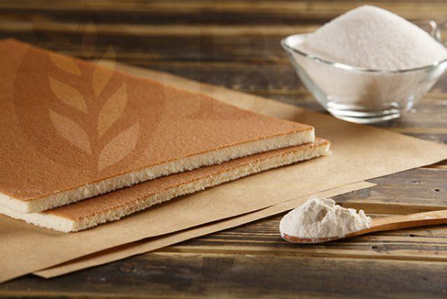 ECI sponge sheet cake