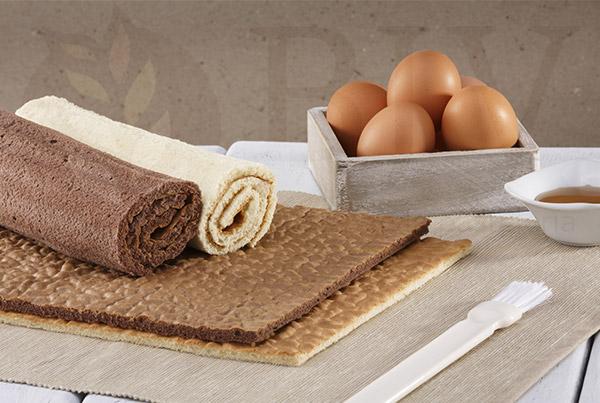 Plancha de bizcocho especial para tartas y brazos de gitano